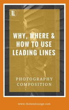 Great tutorial on how to use leading lines for awesome photography composition. Click through for all the info >> #photocomposition