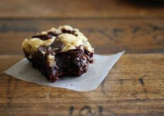 Chocolate Chip Cookie Brownies - Pinch of Yum
