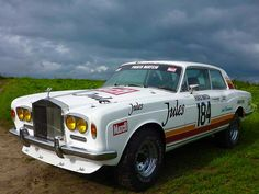 Rolls Royce Corniche I Coupe Jules PARIS-DAKAR. No point in being uncomfortable while you race