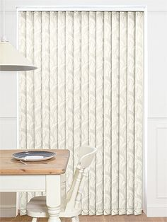 Calaf Blackout Pearl Vertical Blind from Blinds 2go