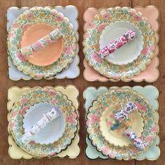 Liberty Poppy & Daisy small plates
