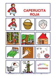 Caperucita Roja.cuentos pictogramas caperucita