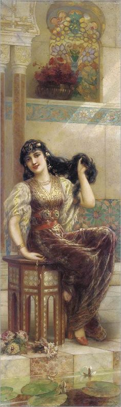 Emile Eisman-Semenowsky  (Polish artist, 1857-1911)