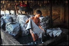 'Today's Slavery' tannery workers by Photography Camera, Underwater Photography, Abstract Photography, Light Photography, Black And White Photography, Fashion Photography, Animal Photography, Photography Tips, Street Photography