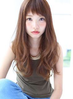 愛されカジュアルロングスタイル 【Ar and e. Love Hair, Gorgeous Hair, Hair Styles 2016, Short Hair Styles, Japan Hairstyle, Hair Arrange, Corte Y Color, Long Curls, Hair Photo