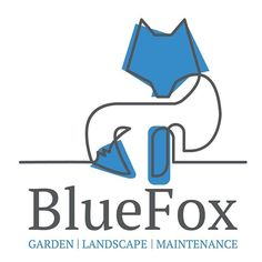 Logo design by Fi & Becs. Jo wanted to use one of Logo Lab logos to create a Blue Fox for his gardening business. Fi From Fi&Becs Design ( Branding Design, Logo Design, Graphic Design, Lab Logo, New Beginnings, When Us, Landscaping, Fox, Gardening
