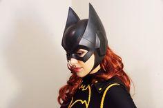 Making a batman/batgirl cowl from urethane rubber (#QuickCrafter)