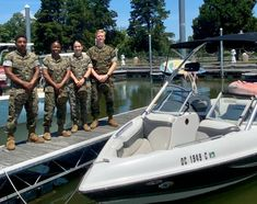 Four Marines were just about to start their day on the Potomac River relaxing on the water and having a picnic, but first they saved the lives of a father and son. Usmc, Marines, Patriotic Poems, Potomac River, Father And Son, Marine Corps, Picnic, United States, America