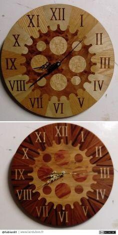 Horloges par Fabien81 - Salut a tous voici mes dernières réalisations , on dirai pas comme sa mais cela a demander pas mal de travai