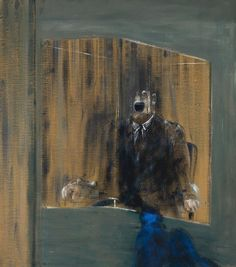 Francis Bacon (British, 1909-1992), Study for a Portrait, 1949. Oil on canvas, 149.4 x 130.6 cm.
