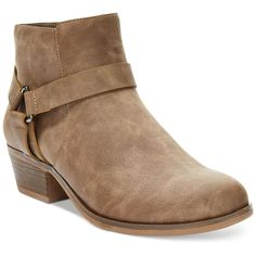Kenneth Cole Reaction Dolla Bill Booties ($60) ❤ liked on Polyvore featuring shoes, boots, ankle booties, taupe smooth, kenneth cole reaction, taupe ankle booties, kenneth cole reaction booties, kenneth cole reaction boots and taupe booties
