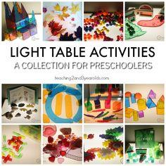 Fun Light Table Activities