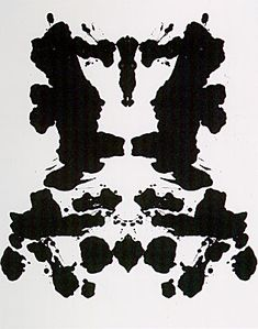 Rorschach (1984) by Andy Warhol