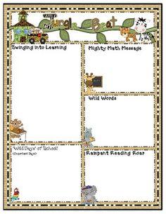 f00c88fc0e4cb0ad9ab0f65c10d041f6 Teacher Weekly Newsletter Template Free on teacher weekly planner template, teacher newsletter ideas, american flag border clip art free, newsletter clip art free,