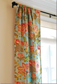 rod pocket curtains with liner