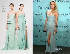 kate hudson tiffany dress party - omg so pretty. I need an event to wear this..oh and someone to buy me a tiffany dress