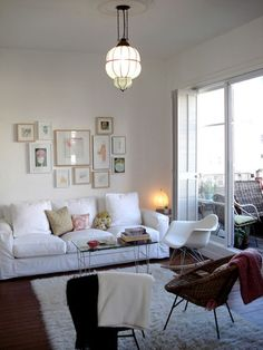 eclectic living room by SFGIRLBYBAY