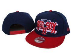 brand new fdafe 60a20 New Era MLB Boston Red Sox Navy Snapback Hats Caps 3259! Only  7.90USD