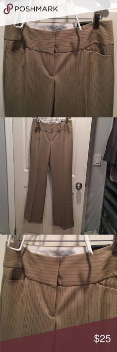 The Limited slacks Pin stripped slacks The Limited Pants Boot Cut & Flare