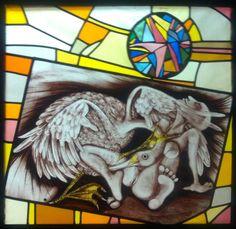Tieneke van Montfort; Leda en de zwaan; expositie 2012