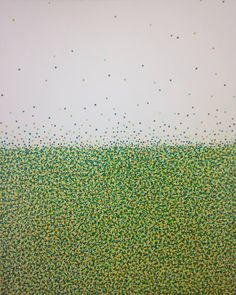 "Saatchi Art Artist Eleni Pratsi; Painting, ""A dot idea N°9"" #art"
