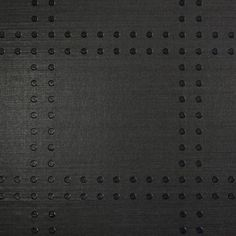 Suzie: Wallpaper - Rivets - Phillip Jeffries - rivets, black, black, wallpaper