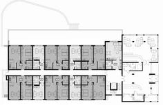 Typical Boutique Hotel Lobby Floor Plan