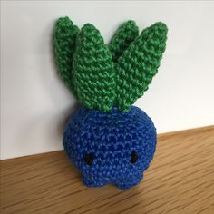 Pokemon Oddish Haken Crochet
