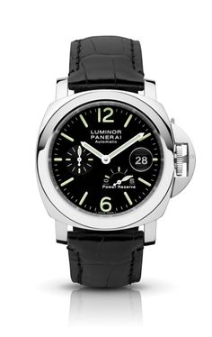 Luminor Power Reserve Automatic Acciaio PAM00090 - Colección LUMINOR - Relojes Officine Panerai