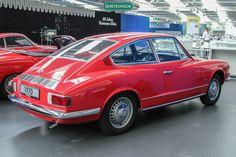 Karmannguia TC no Museu da VW Alemanha