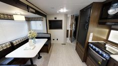 General RV Virtual Showroom | Browse RV Floor Plans, Videos Rv Floor Plans, Travel Trailers, Showroom, Flooring, How To Plan, Videos, Table, Furniture, Home Decor