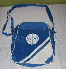 NWOT - VINTAGE PAN AM AIRLINES CARRY ON TRAVEL BAG