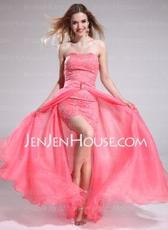 Prom Dresses - $186.99 - A-Line/Princess Sweetheart Floor-Length Organza Tulle Charmeuse Prom Dress With Lace Beading (018025290) http://jenjenhouse.com/A-Line-Princess-Sweetheart-Floor-Length-Organza-Tulle-Charmeuse-Prom-Dress-With-Lace-Beading-018025290-g25290