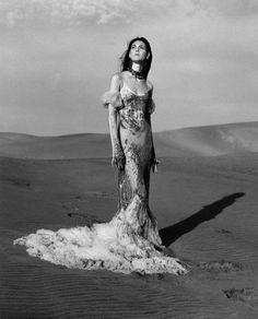 Vittoria Ceretti Models Alexander McQueen Spring Summer 2017 Collection