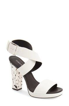 Calvin Klein 'Bao' Platform Sandal (Women) available at #Nordstrom