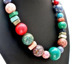 Vintage Rhodochrosite Turquoise Bead by TheJewelryLadysStore, $51.00