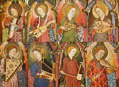 """Early strings from """"El altar-relicario del Monasterio de Piedra"""""""