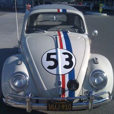 Details About Exact Herbie The Love Bug Decals Vehicle