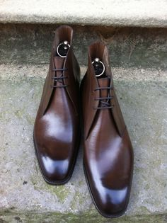 Arran in Vintage Oak Calf {If you turn your head sideways... no to the left... you'll see heaven in these Shoes}