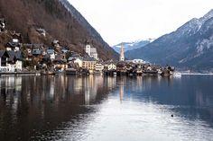 Beautiful villages hallstatt village austria