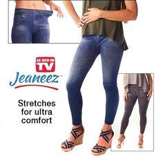 Jeaneez Slimming Denim Leggings As Seen On TV