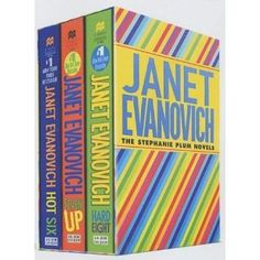 Stephanie Plum series, love these books!!