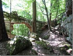 natural bridge sewanee tn | also went to Foster falls and did a short hike.
