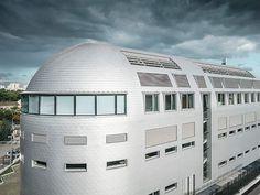 State of the Art-Architektursprache für Pariser Hightech-Gebäude State Art, Form, Multi Story Building, Design, Technology, Parisian, Modern Architecture