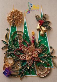 Neli Quilling Art: Preparation for Christmas _ # 5 / 2015 /