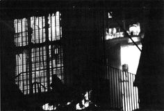 This famous photo of a young girl looking out from a raging fire was taken during a 1995 structure fire at Wem townhall in Shropshire, England. Shot from across the street by a local photographer, nothing unusual was seen at the time but once the negative was developed he noticed what appeared to be a young girl standing in the doorway of the burning building. Firemen found the photo so disturbing that they sifted through the ashes afterwards searching for the remains of a body but found none.