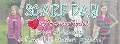 Scarf Day | Free Crochet Patterns | American Crochet @americancrochet.com #ScarfDay