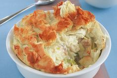 Low carb fish pie. Filo has a lot less carbs than ordinary pastry and you dont use much in this recipe.