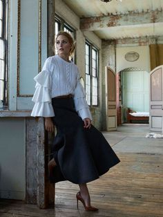 Olivia Palermo's Newest Shoot Is Simply Gorgeous via @WhoWhatWear