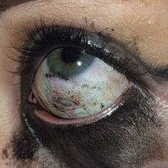 This is why we 👏🏻 don't 👏🏻 wear 👏🏻 makeup 👏🏻 in 👏🏻 the 👏🏻 ring Night In The Wood, American Horror Story, Grunge, Bloom, Makeup, Beauty, Aesthetics, Burn Outs, Dystopia Rising